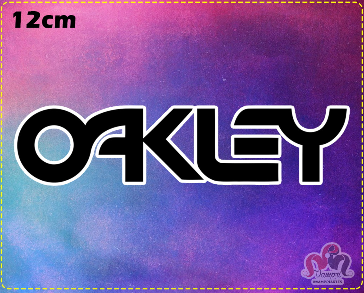 b08ee0c1c Adesivo OAKLEY - Recorte Especial - FRETE GRÁTIS no Elo7 ...