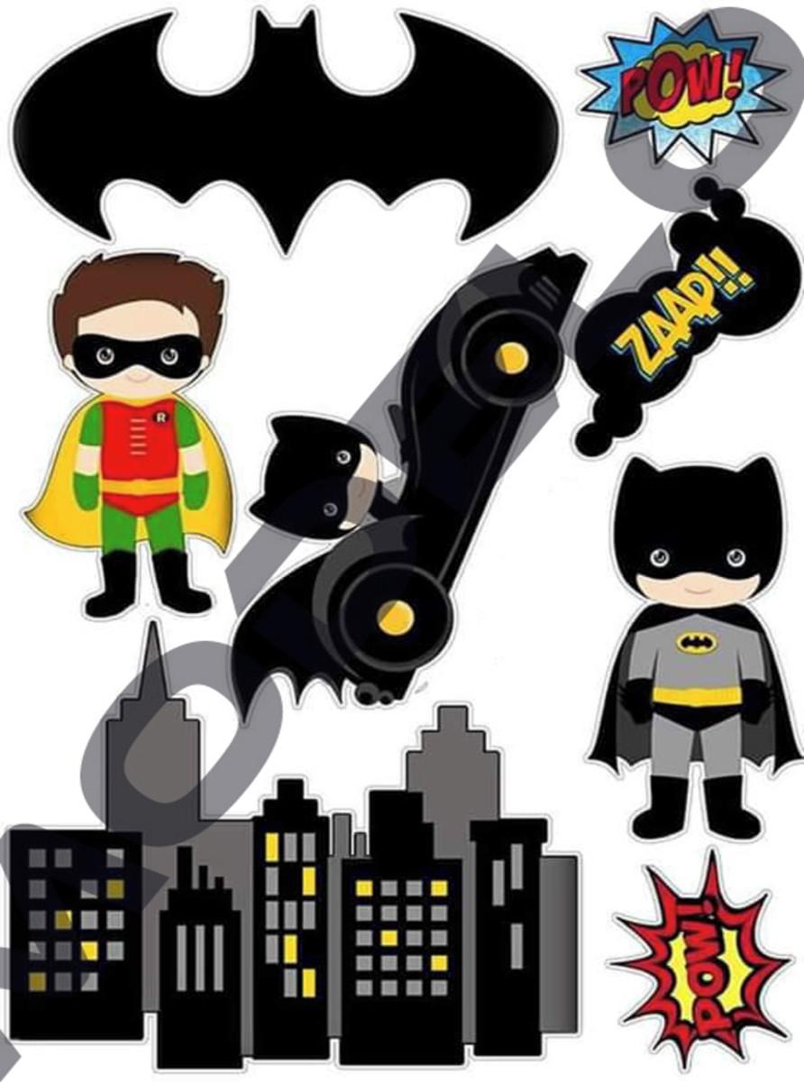 Topo De Bolo Digital Batman No Elo7 Arte Brasil Digital F94786