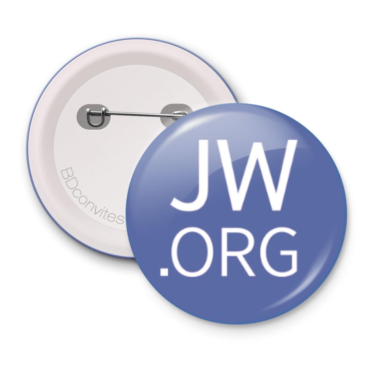 Botton 45cm JW ORG Testemunha de Jeová Congresso Sp 2019