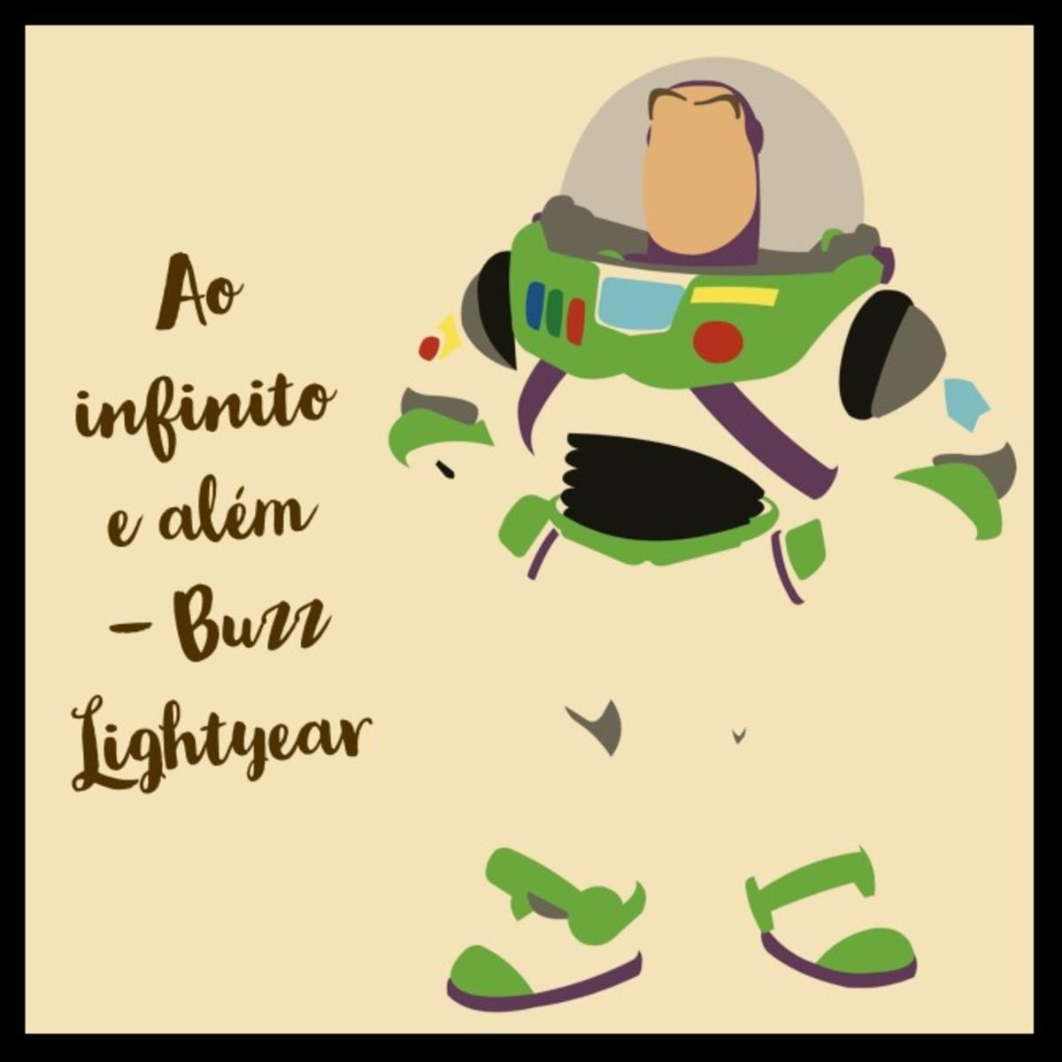 Quadro Do Buzz Lightyear