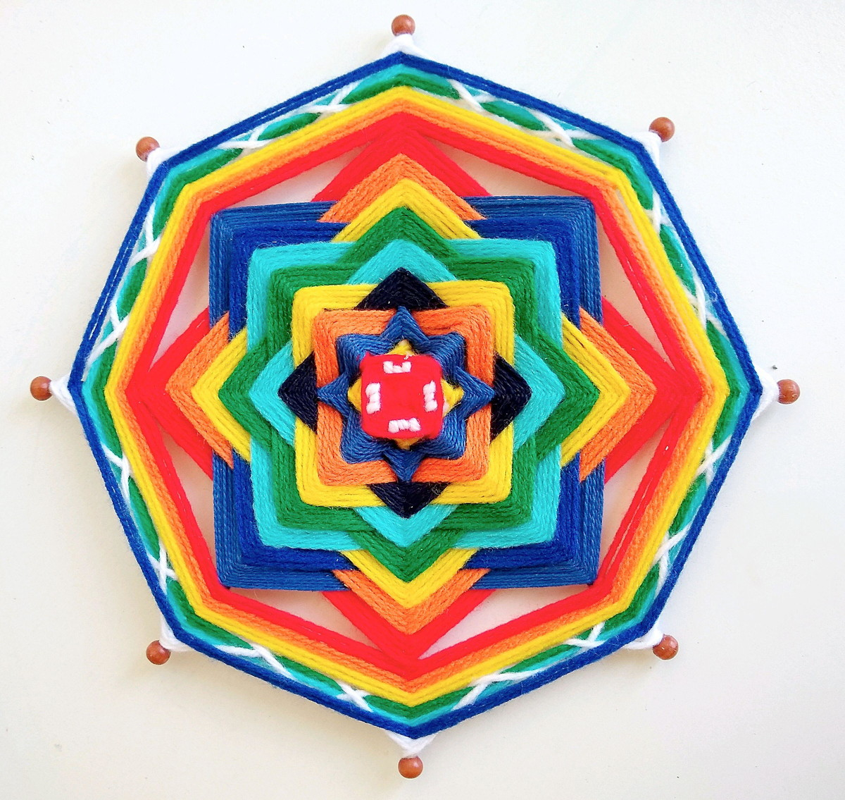 Resultado de imagem para mandala arco iris coronario