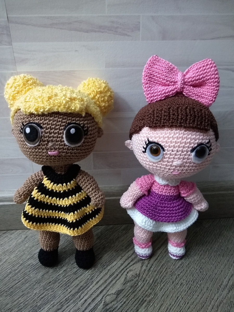 👙LOL AMIGURUMI👙 - CROCHET - FÁCIL👙👙 - YouTube | 1200x900