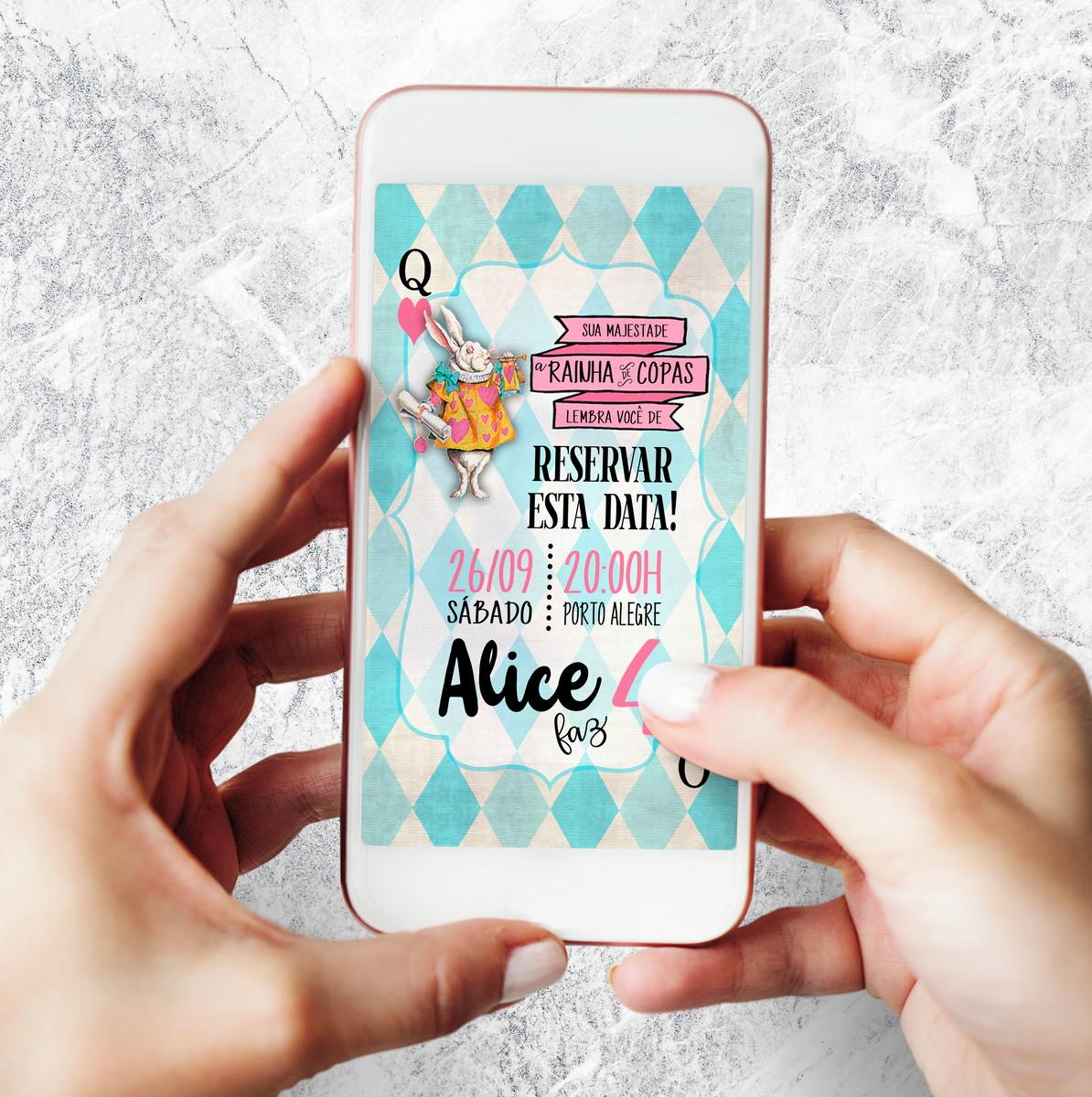 Alice Nos Pais Das Maravilhas Filme Online [arte digital] - save the date alice no país das maravilhas