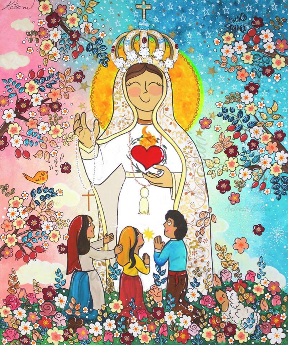 Painel Nossa Senhora De Fatima No Elo7 Andreza Katsani Fd722f