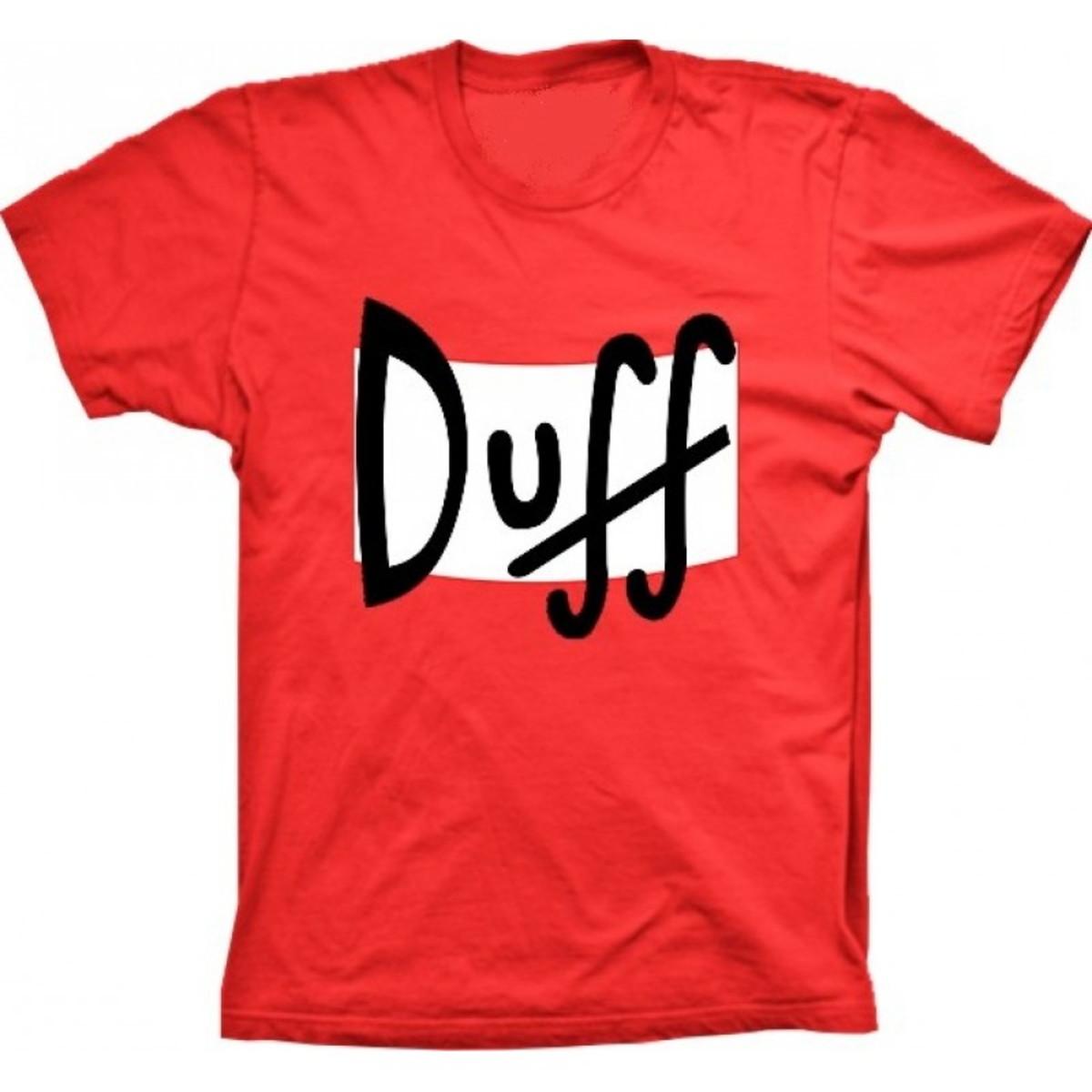 614647a80a07 Camiseta Duff Cerveja Simpsons no Elo7 | Iron Camisetas (FD7883)