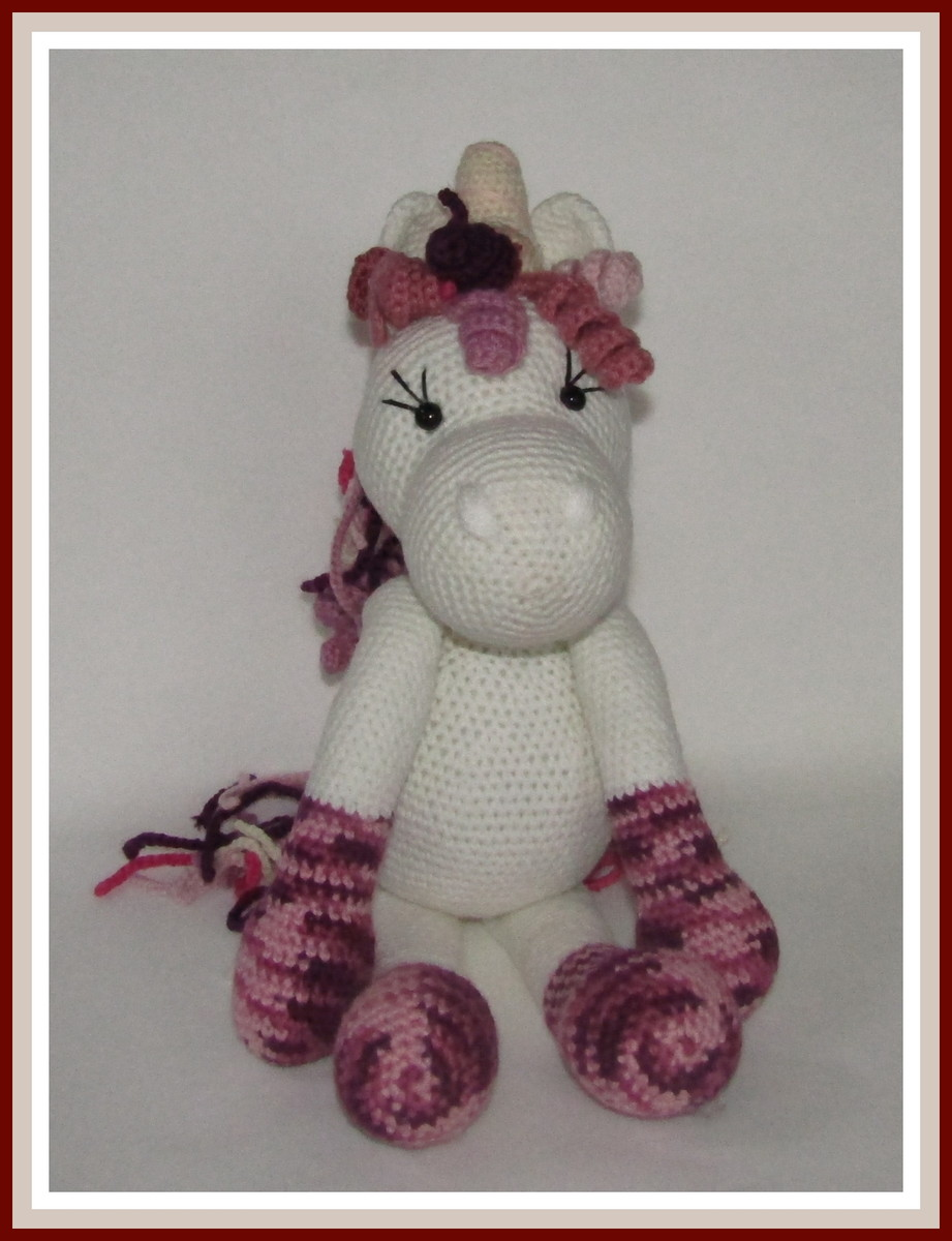 DIY Amigurumi How to knit #Unicornio #amigurumi knitting to ... | 1200x921