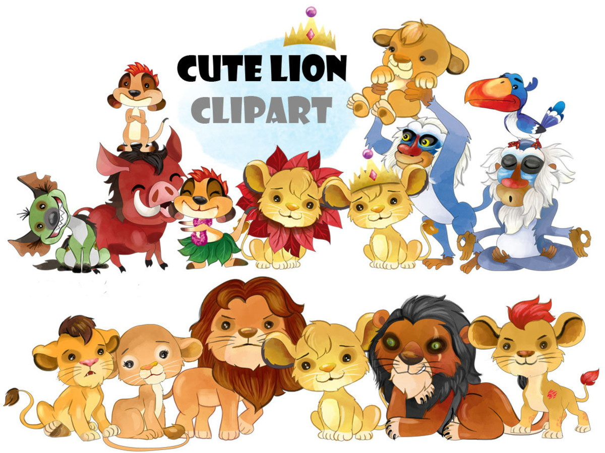 Kit Digital Rei Leao Disney Imagens Clipart Png No Elo7 Renata