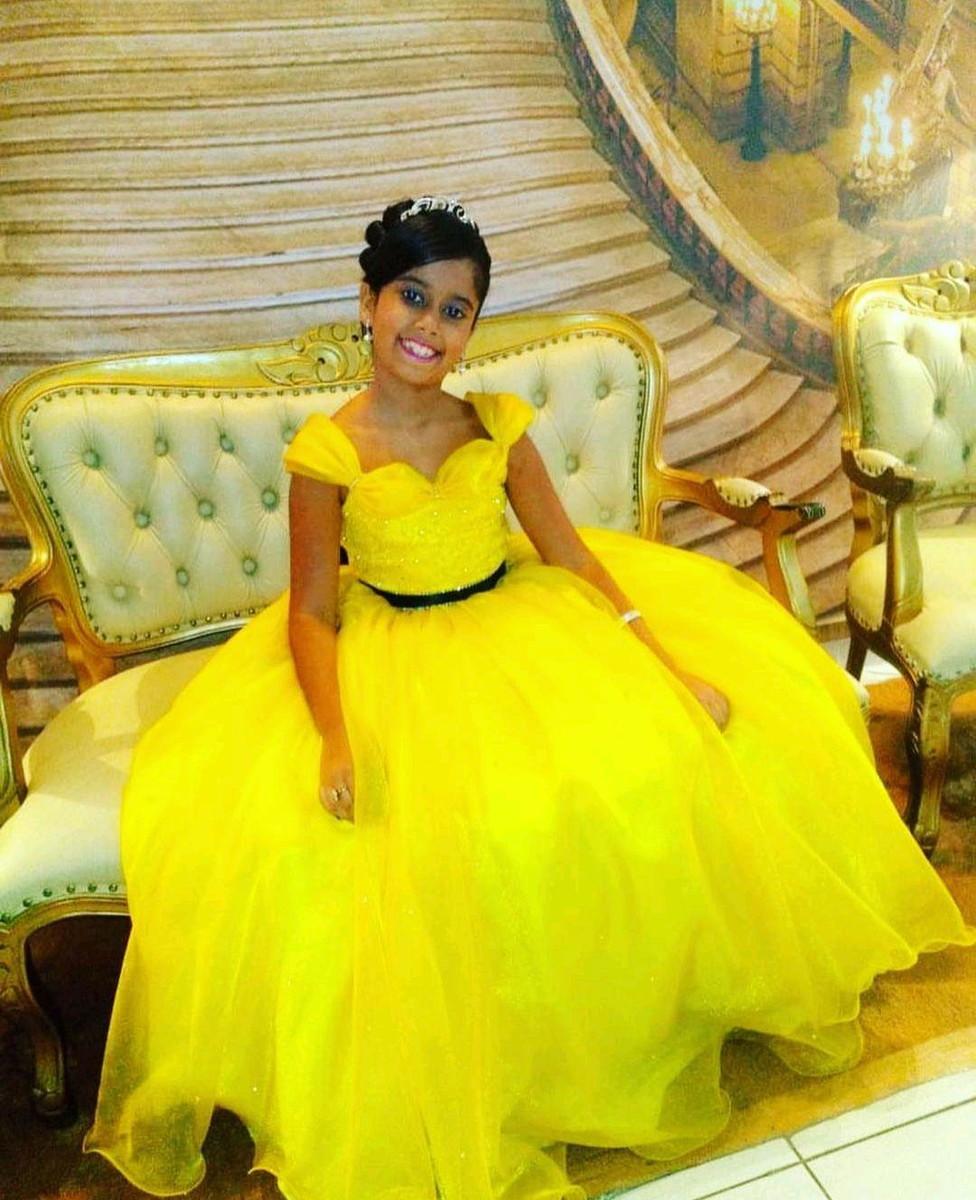 Vestido Infantil Formatura Do Abc