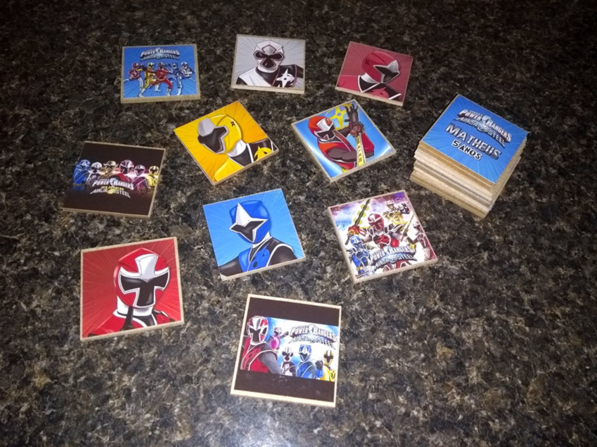 Jogo Da Memoria Power Rangers Ninja Steel No Elo7 Balsamo