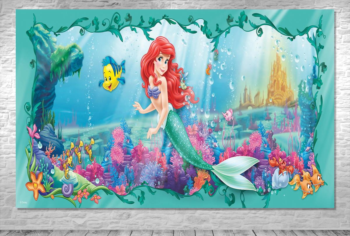 Painel Pequena Sereia Ariel Frete Gratis No Elo7 One Artes Fef23c