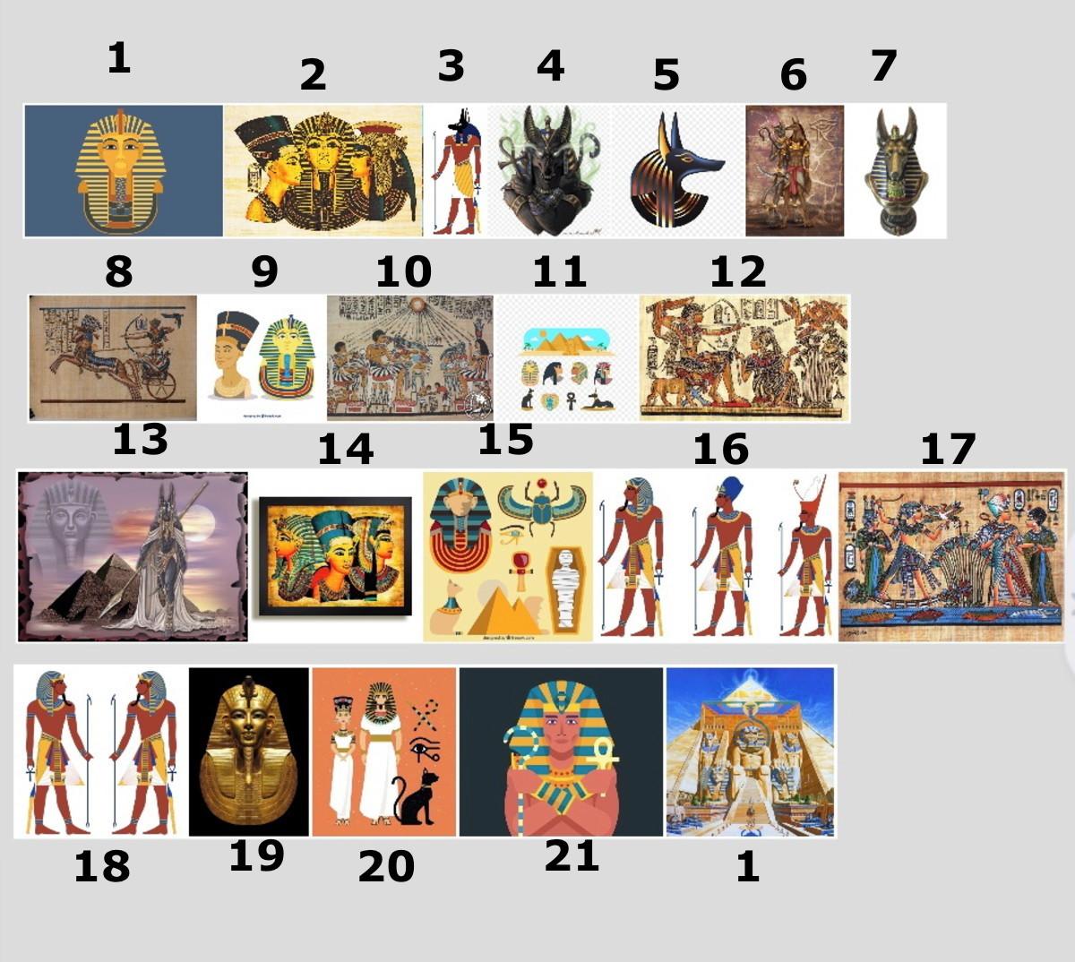 Quadro Egito Mitologia Egipcia Anubis Farao Piramide No Elo7