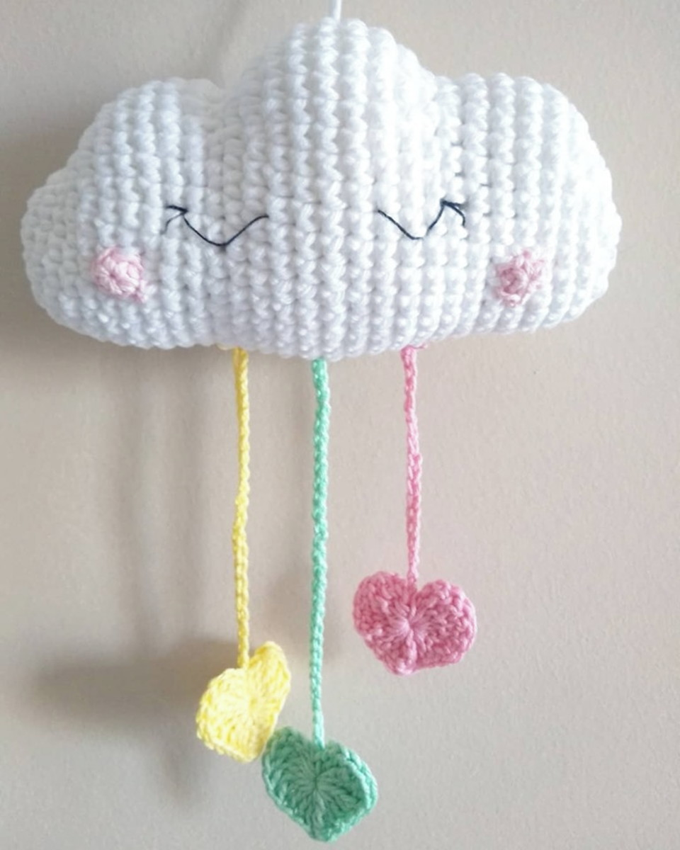 Mini Amigurumi Airplane Free Crochet Pattern | Mobile de croche ... | 1200x960