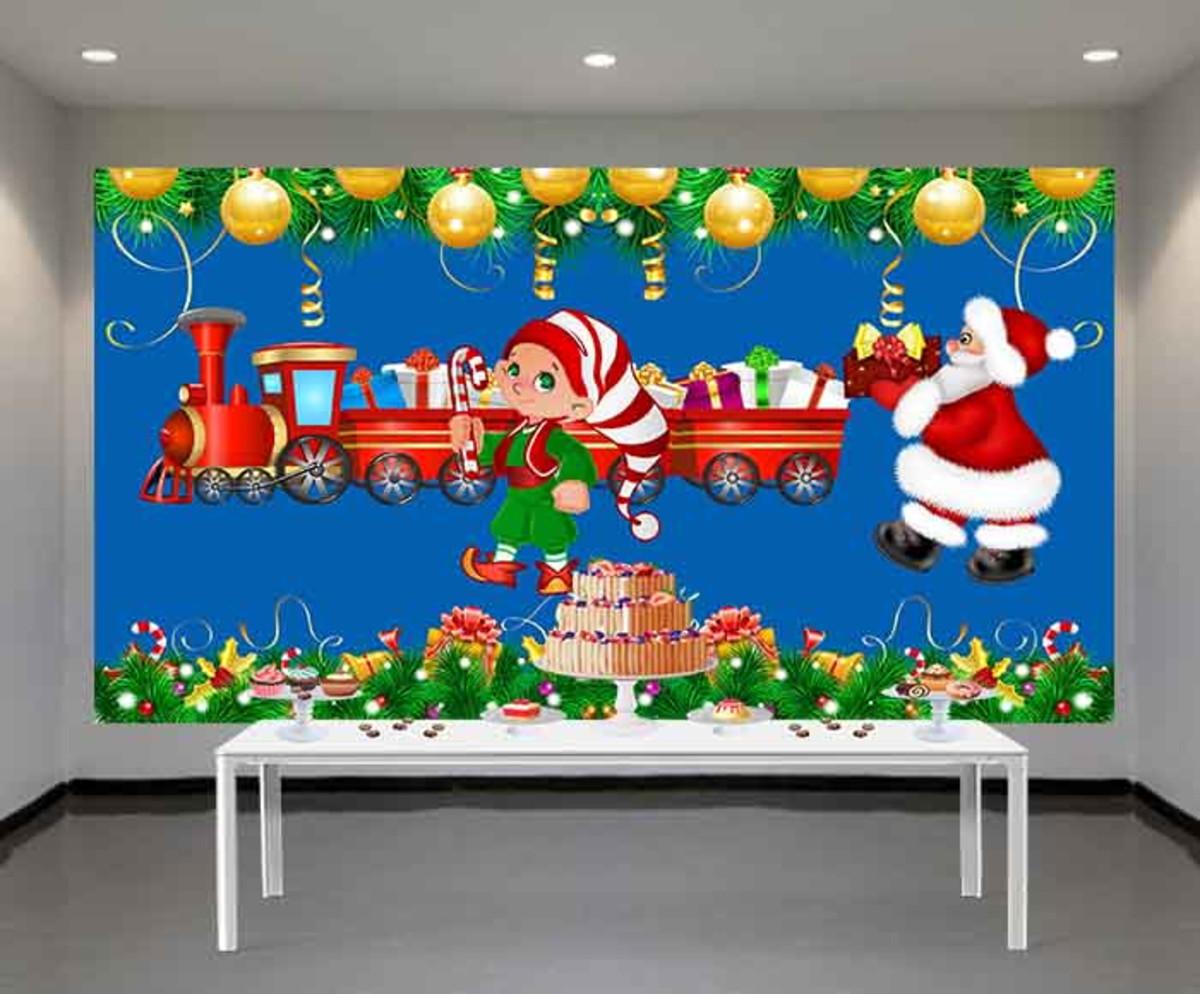 Painel De Festa Natal