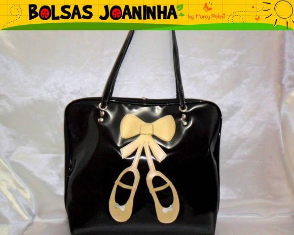 Bolsa Dourada Infantil : Sapatilha dourada bolsa gigante bolsas joaninha elo