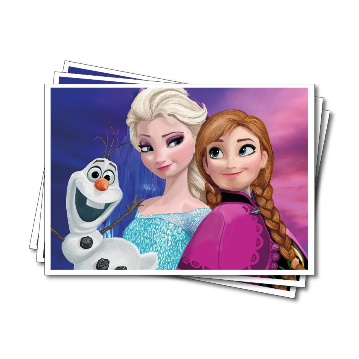 Papel De Arroz Frozen Ana Elsa E Olaf No Elo7 Atelie Nina