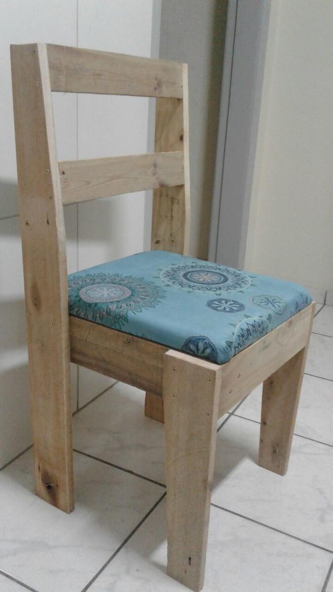 Image of: Cadeira Em Madeira De Palete Almofadada No Elo7 Mdomingues 10030f9