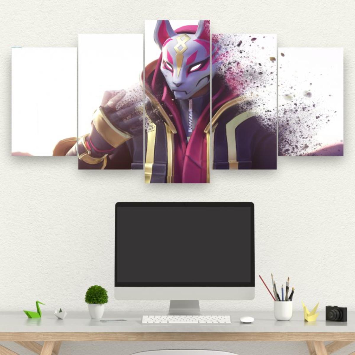 Kit Quadro de 5 Partes Fortnite Thanos - Epic Games
