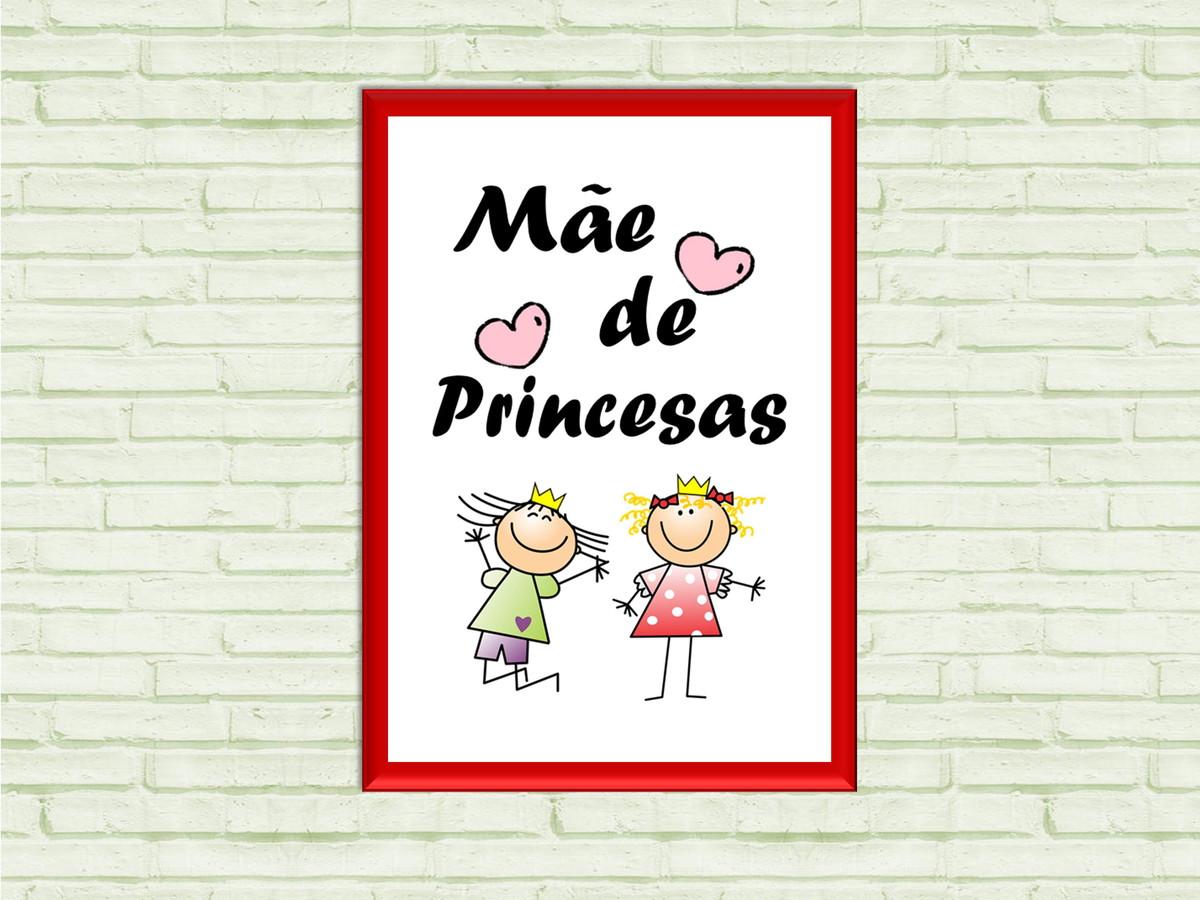 Quadro Digital Mae De Princesas Desenho Arte Digital No Elo7