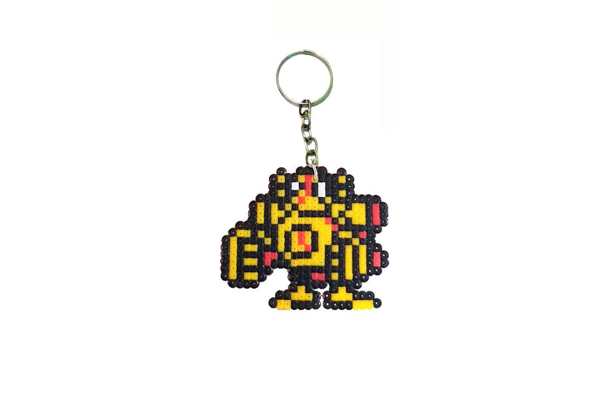 Chaveiro Blitzcrank (League of Legends) - Pixel Art