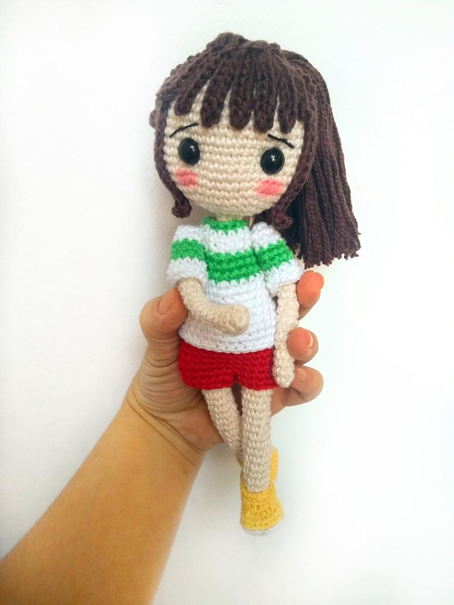 Boneca amigurumi- boneca crochê (boneca padrão pequena) no Elo7 ... | 1200x900