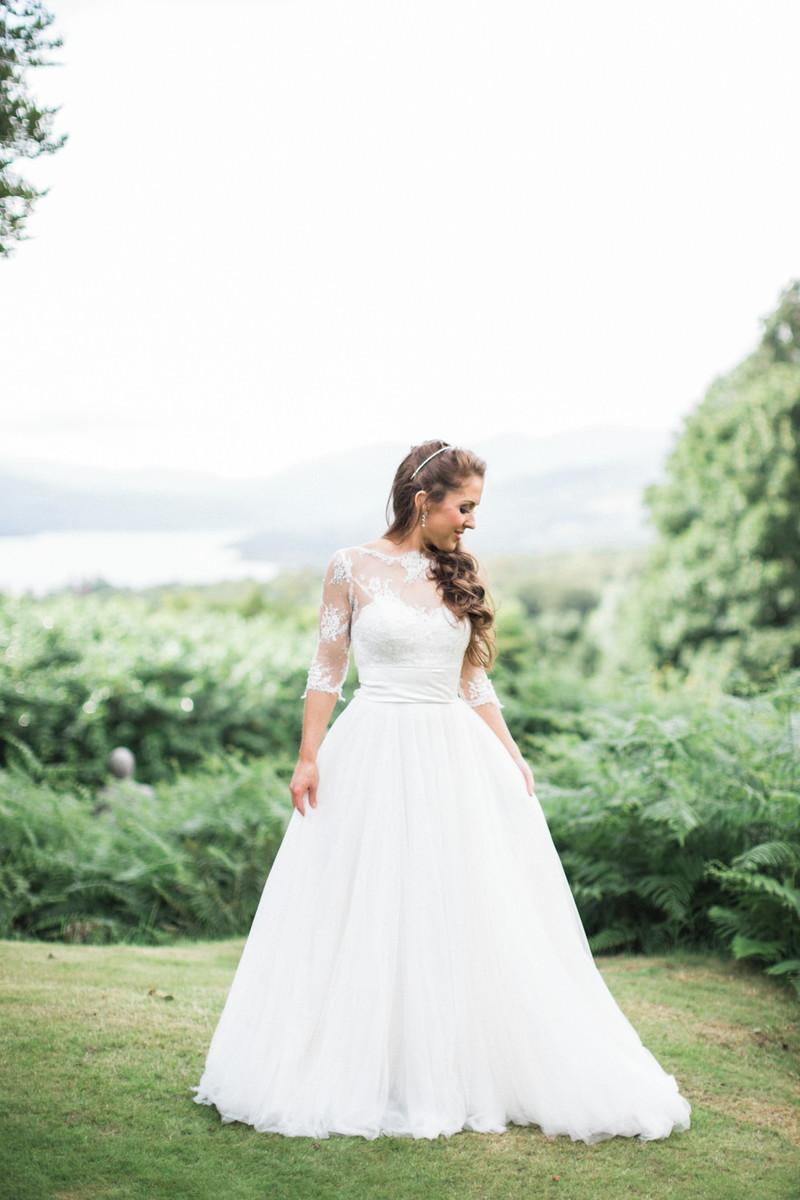 Vestido Noiva Boho Princesa Campo