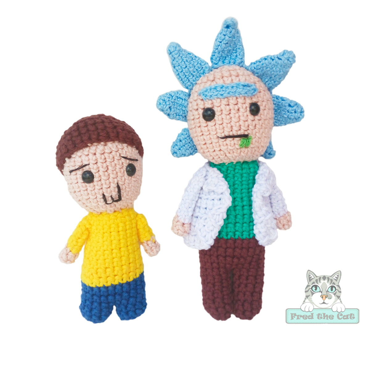 Ravelry: Morty Smith from Rick and Morty pattern by Tina L. crafts | 1200x1200