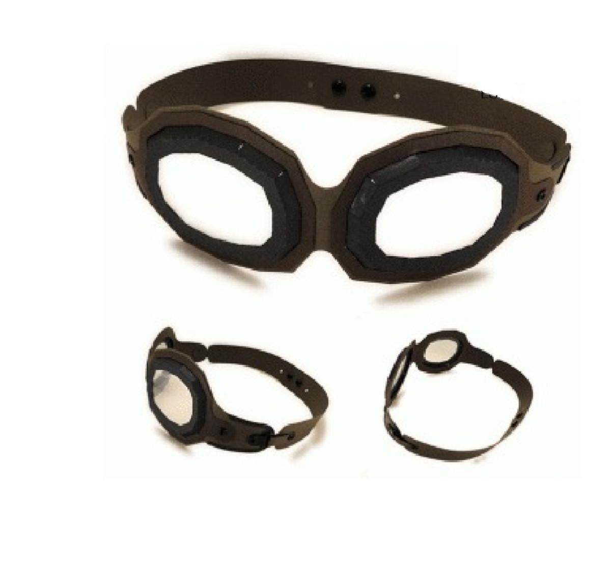 Arquivo Silhouette Molde Oculos Aviador 3d Festa Infantil No Elo7
