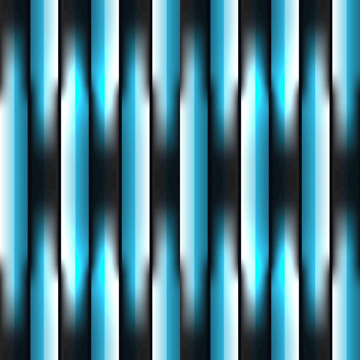 Papel De Parede Listras Efeito 3d Tons De Azul E Preto No Elo7