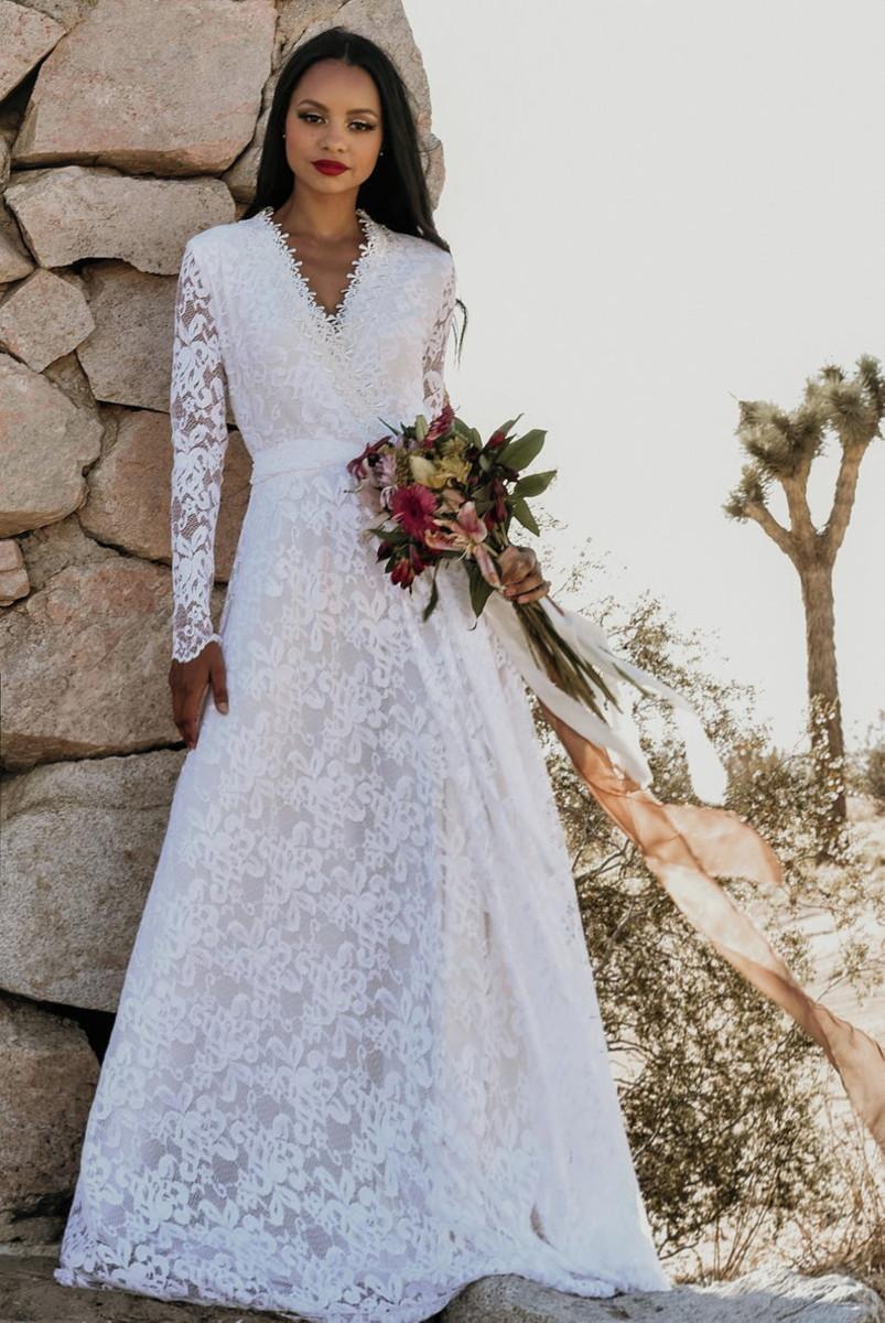 Super Off Vestido Noiva Boho Encanto Casamento Campo Praia