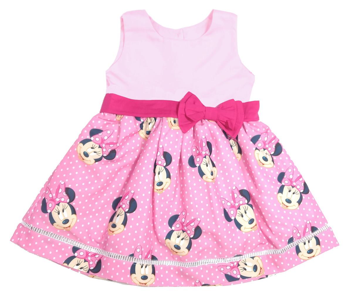 Vestido Minnie Rosa 1 6 Anos