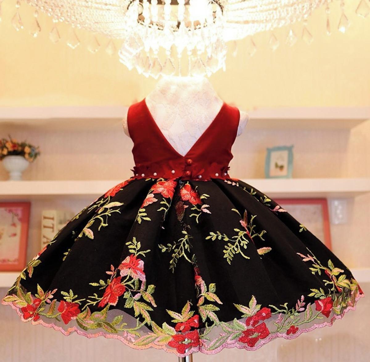 LS85209 Vestidos de noite Flores 3D Lace Long Gray Corset