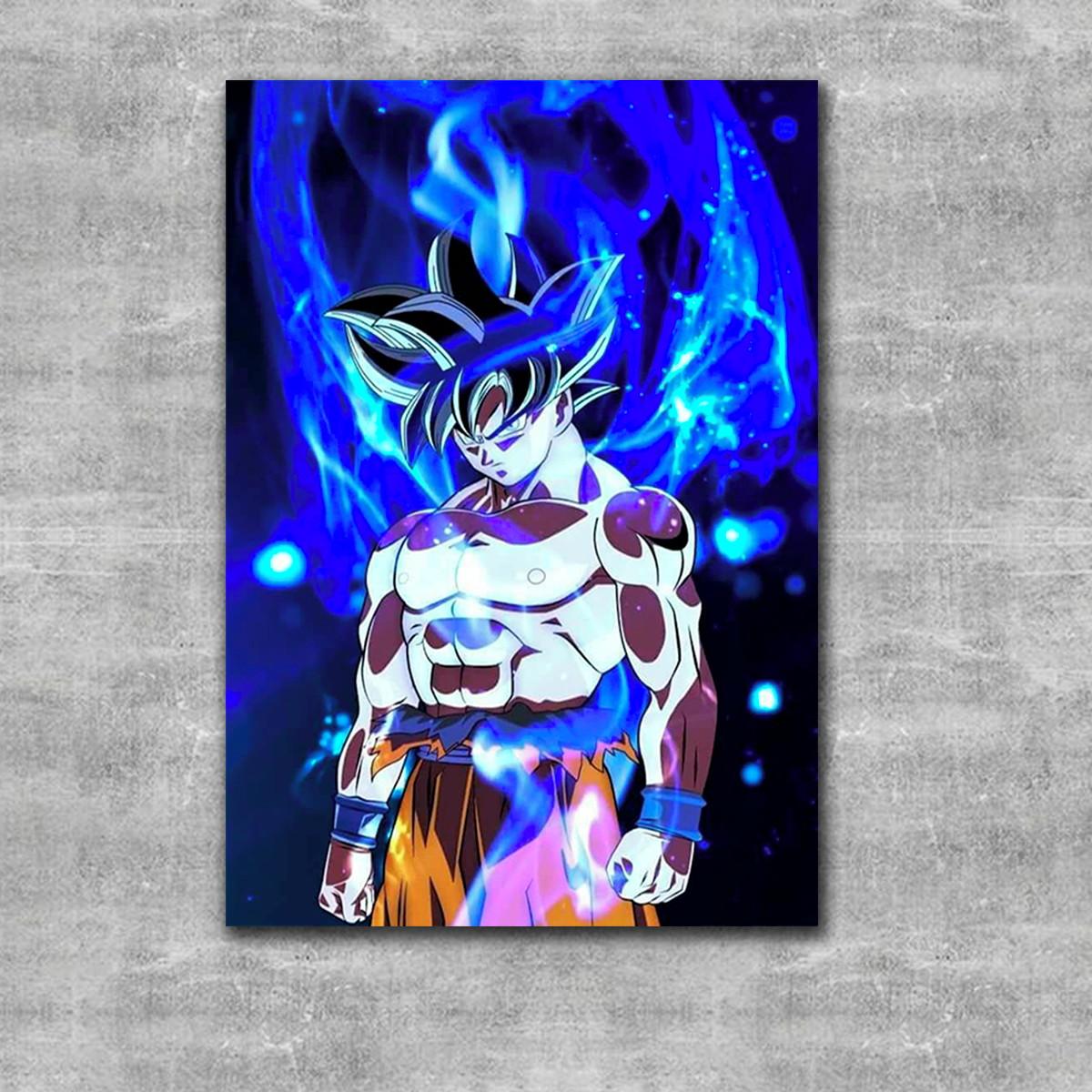Quadro Goku Instinto Superior Dragon Ball Super Promoção