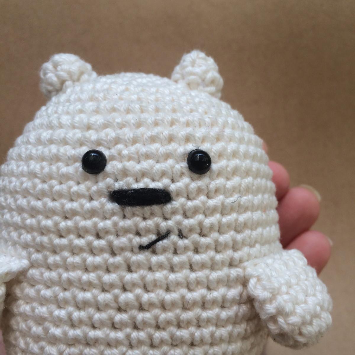 Amigurumi Crochet Colorful Cute Keychain WE BARE BEARS | Shopee ... | 1200x1200