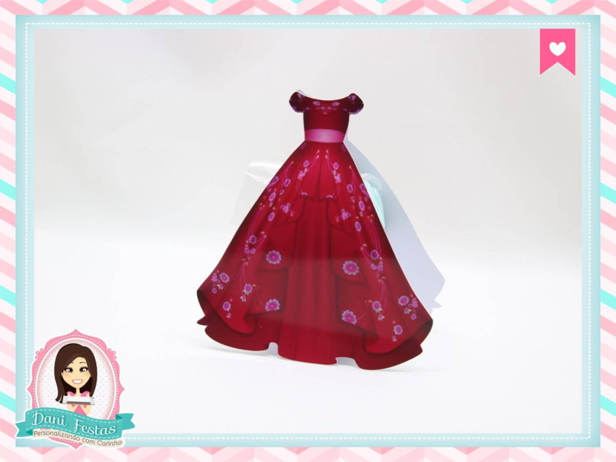 Caixa Vestido Elena De Avalor