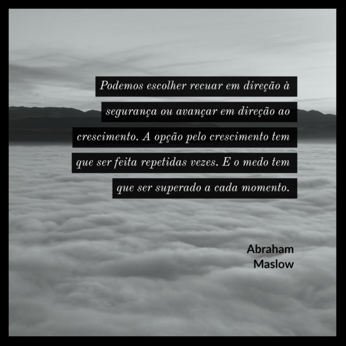 Quadro Motivacional Por Abraham Maslow