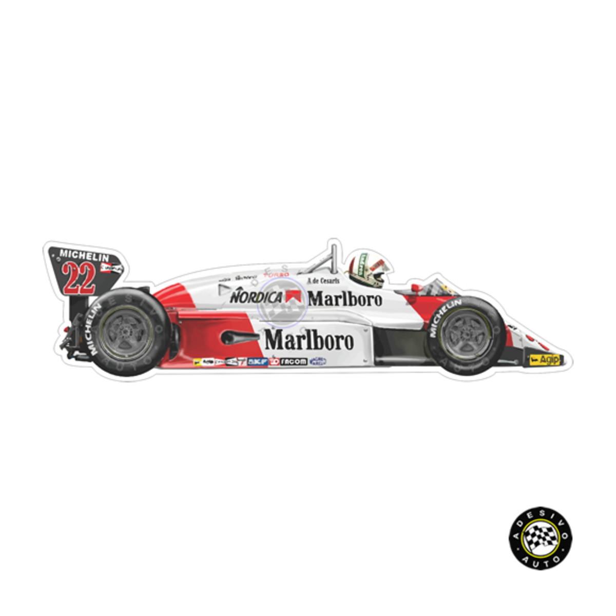 Adesivo Alfa Romeo 183t Andrea De Cesaris 1983 F1 Formula 1 No Elo7 Adesivo Auto Adesivos Dos Campeoes 105d334