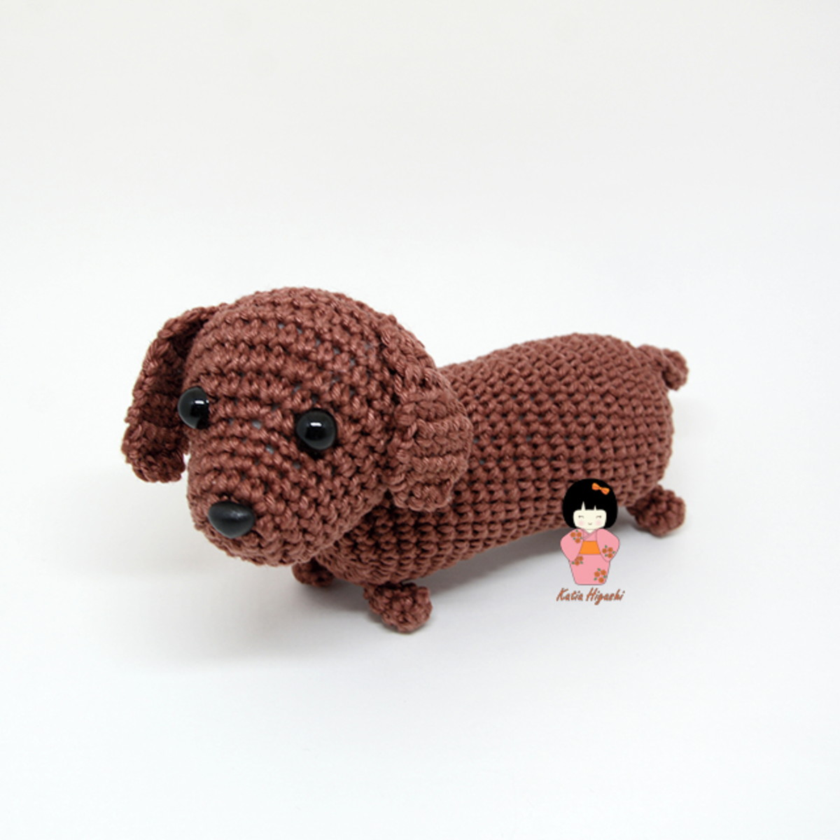 Crochet Cute Amigurumi Dachshund Dog Part 1 of 2 DIY Video ... | 1200x1200