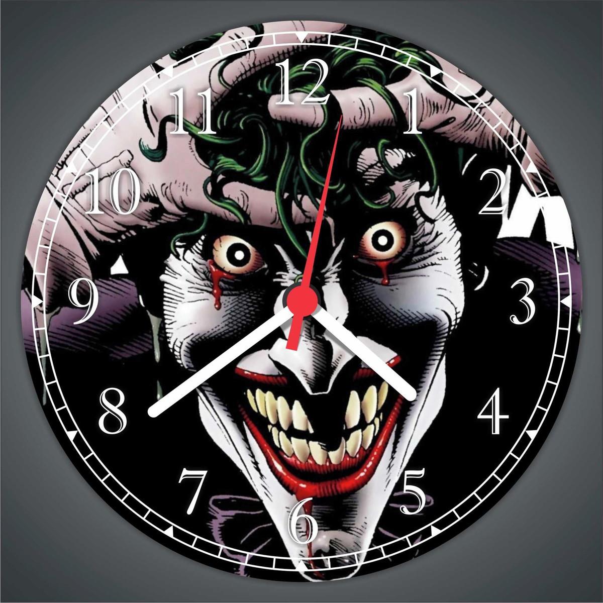 Relogio De Parede Batman Coringa Joker Desenho Quadrinhos No Elo7