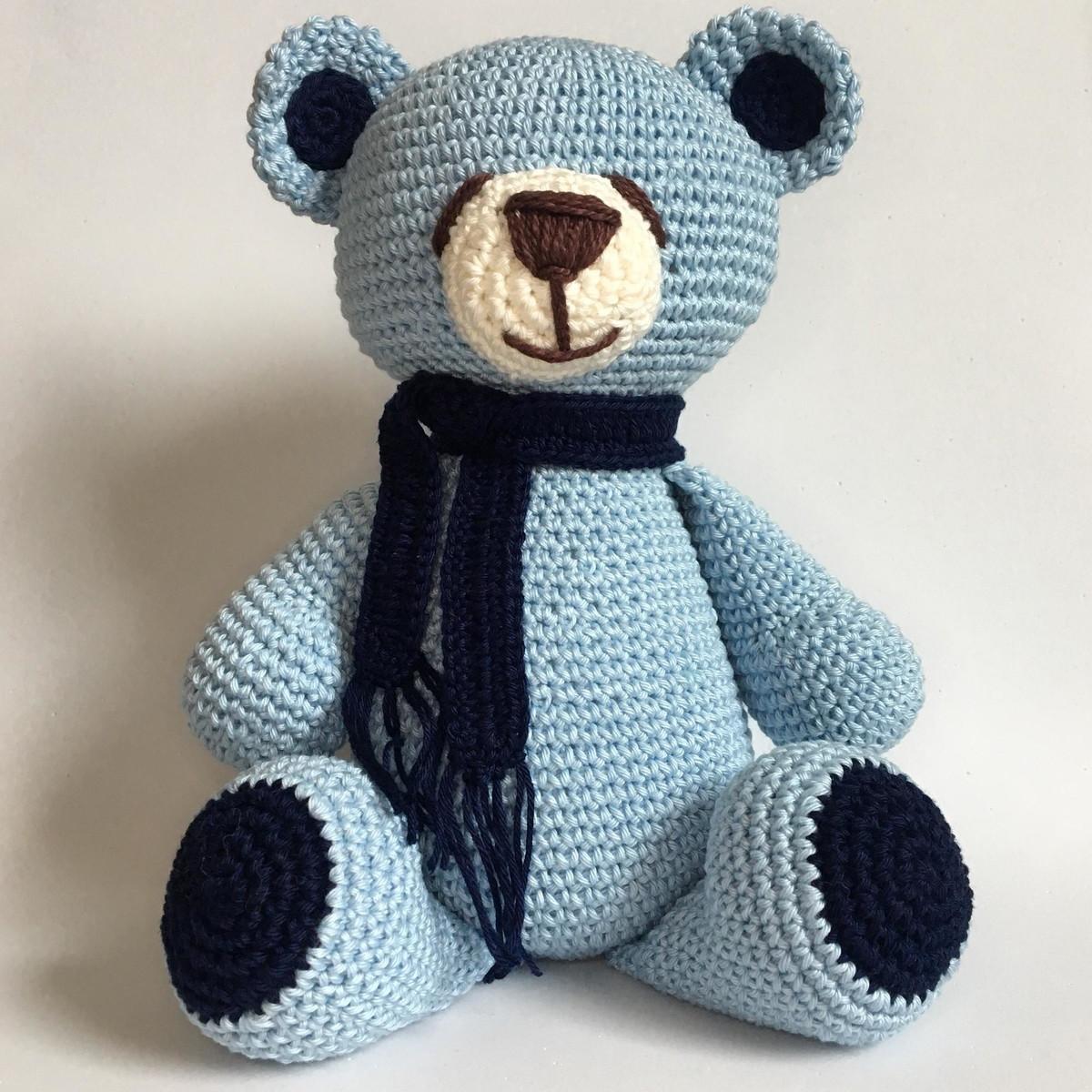 Urso cachecol | Little Things Amigurumis | Talk7 | Urso, Animais ... | 1200x1200