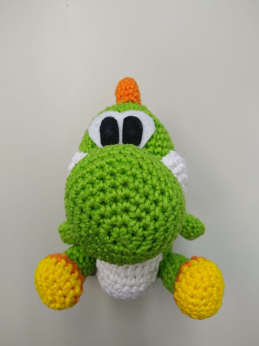 Yoshi Amigurumi (Crochet Pattern PDF) | Patrones amigurumi ... | 1200x900