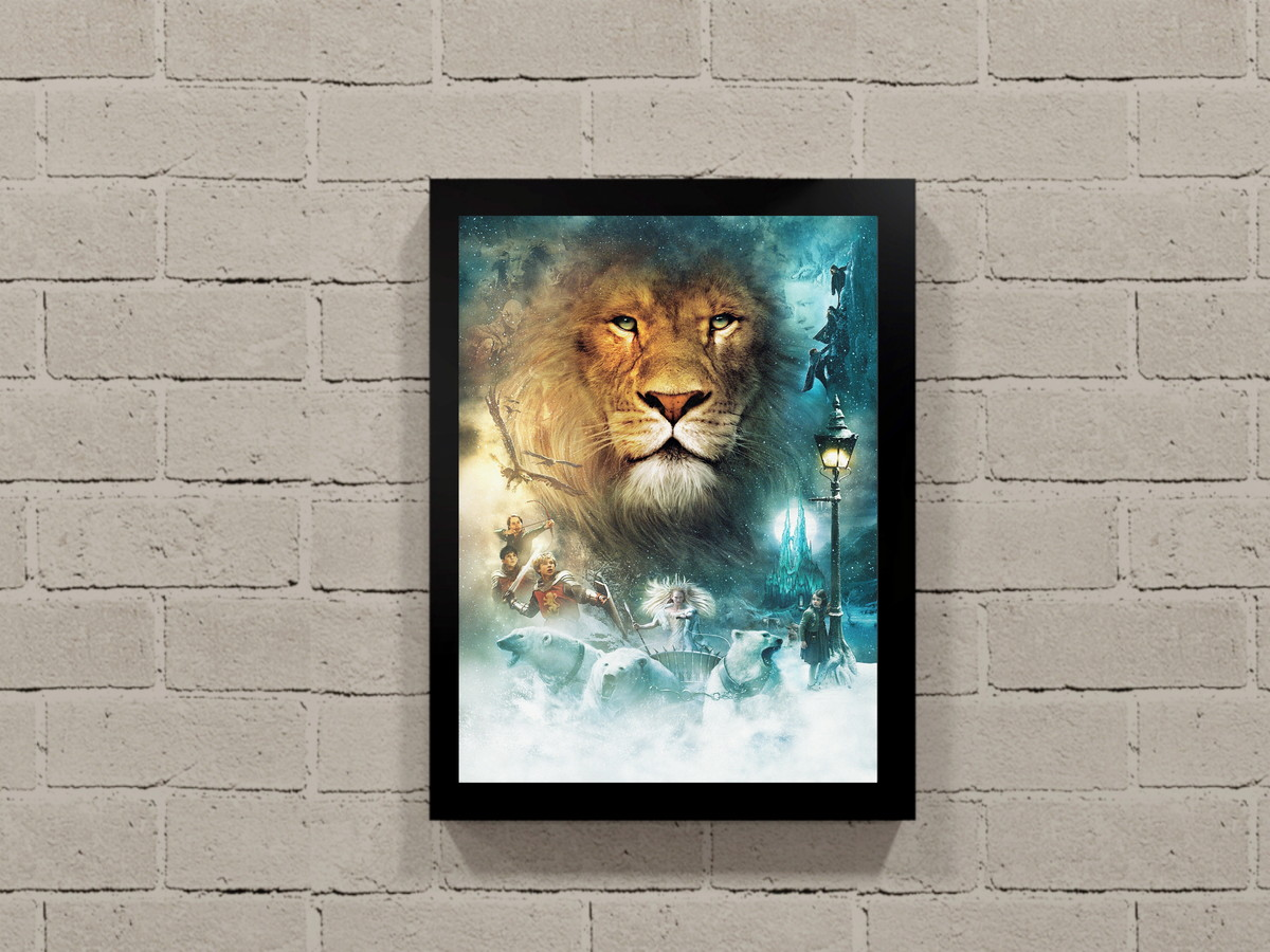 Poster Do Filme As Cronicas De Narnia Quadro Com Moldura