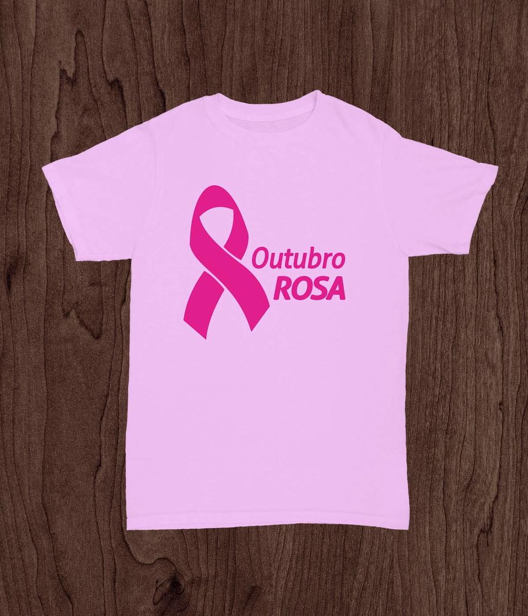 Camiseta Outubro Rosa 02 No Elo7 Mar Arte Design 10890e9