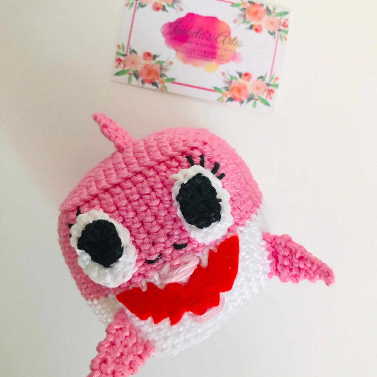 Free Crochet Pattern | Baby Shark Chunky Amigurumi | Keep Calm and Crochet  On U.K | 1200x1200