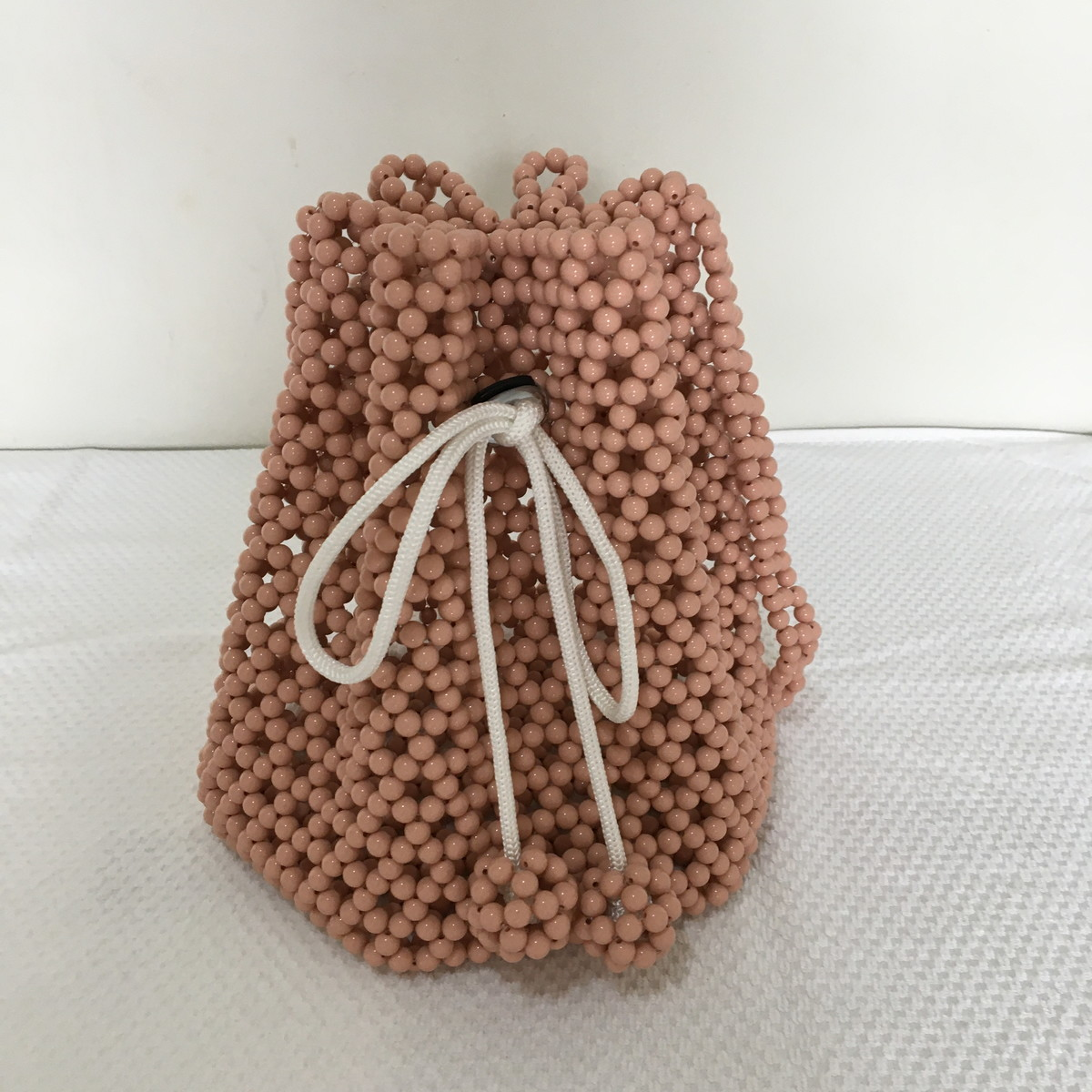 Bolsa Saco Beaded Bucket Bag No Elo7 A1 10c9c2b