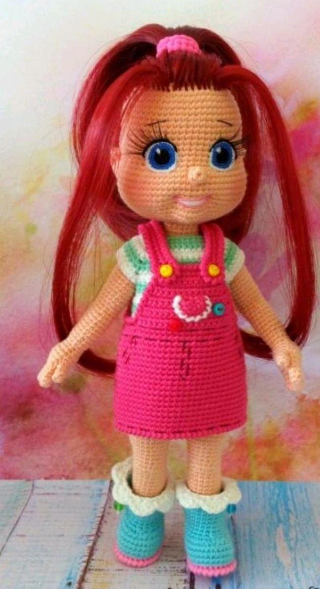 Boneca Lara confeccionada por Val crochê Arte com amor ... | 1200x652