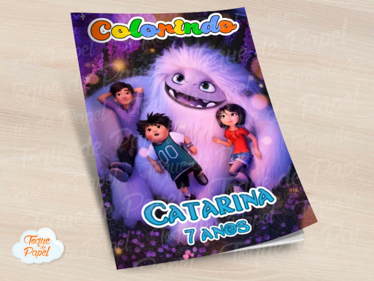 Revista Colorir Abominavel No Elo7 Toque De Papel 10d4e4a