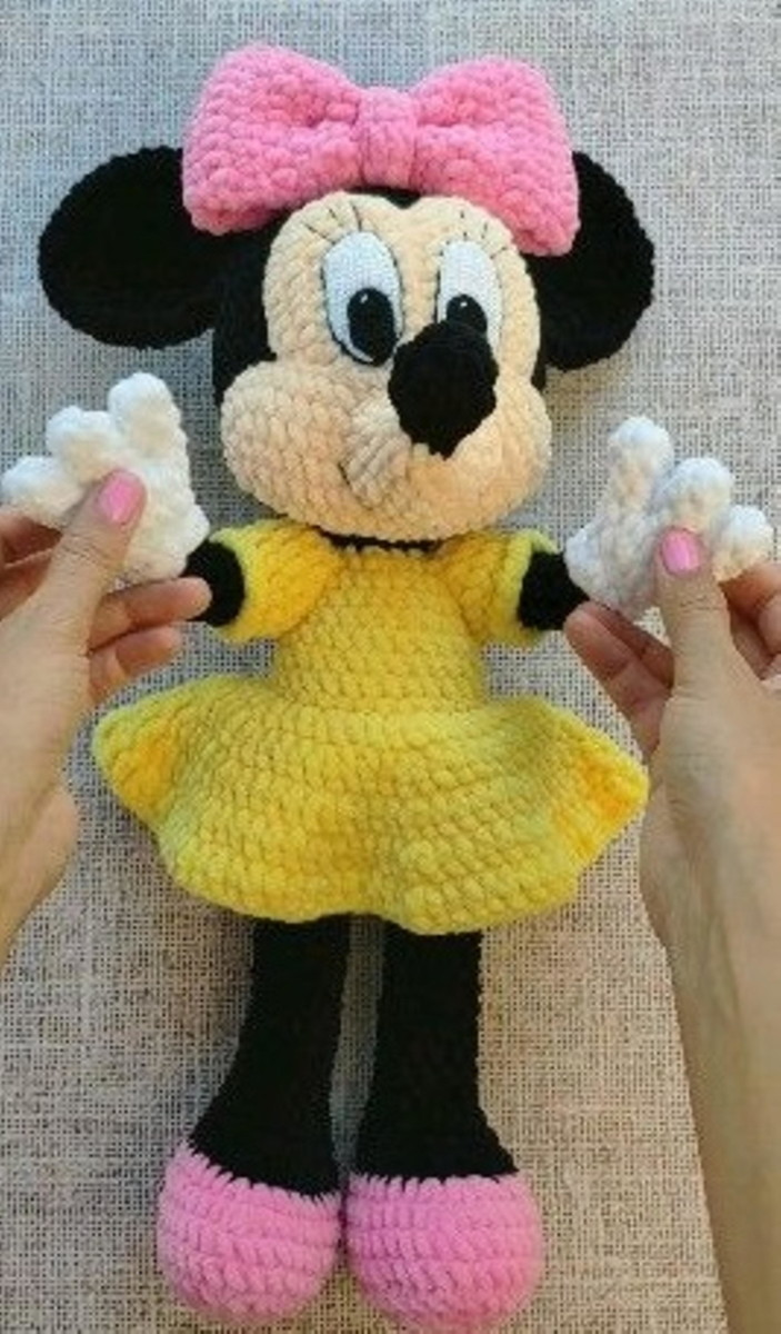This is only the pattern, not the finished toy! ********** Mickey ... | 1200x703