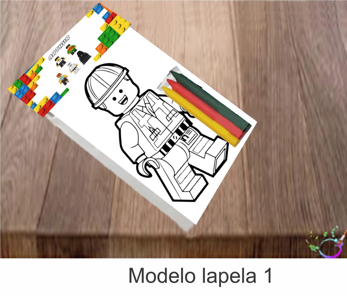 Desenhos De Colorir 3 Giz De Cera Lego No Elo7 Tipoart 10e6d8c