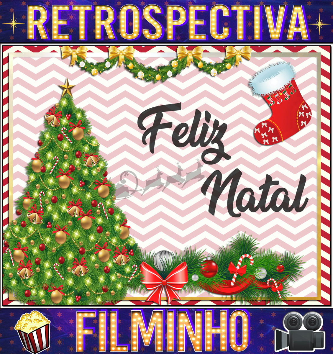 Retrospectiva Animada Feliz Natal No Elo7 Festa Festinha Festona