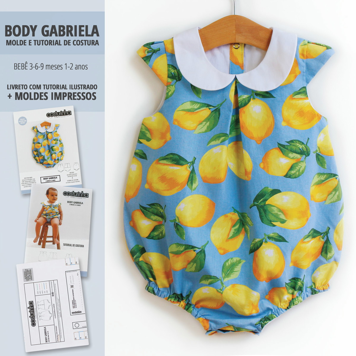 Body Gabriela Impresso Moldes E Tutorial No Elo7 Costurinha